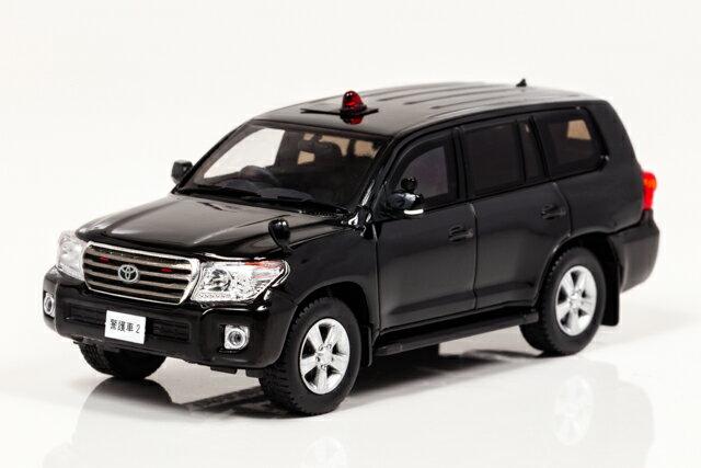 レイズ 1/43 トヨタ ランドクルーザー AX (URJ202) 2014 警察本部 特殊警護車両