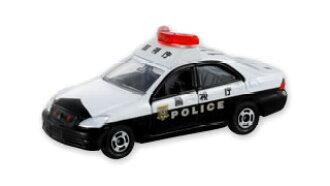 Tomica 110 Toyota Crown patrol car police