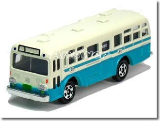 Tomica 三菱扶桑都營單人巴士藍