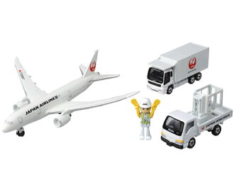 Tomica 787 Airport Set (JAL)
