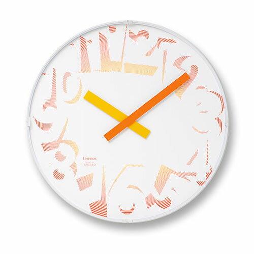 レムノス SPREAD CLOCK BRIGHT 掛け時計 SPL08-12 父の日 プレゼント 父の日ギフト おしゃれ かわいい Lemnos 日本製 モダン 北欧スタイル SPREAD 小林弘和 山田春奈 壁掛け時計 見やすい レトロ 掛時計 デザイナーズ デザイン シンプル 誕生日 結婚祝い 出産祝い 引越し祝い