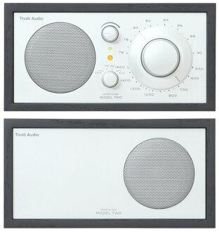 ■ 단종 ■ 티 볼 리 오디오 테이블 라디오 Model Two 블랙/실버 10P23Jul12
