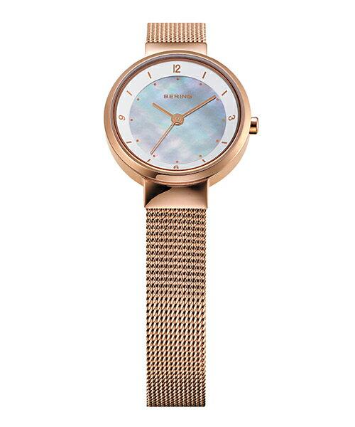 ベーリング Ladies Solar Mini 腕時計 14424-366 ホワイト&ローズゴールド レディース 14424-366 父の日 プレゼント 父の日ギフト おしゃれ かわいい フォーマル BERING 時計 デザイン デザイナーズ 北欧デザイン モダン 時計 アナログ ブランド 誕生日 結婚祝い 出産祝い