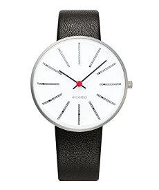アルネヤコブセン ARNE JACOBSEN 時計 バンカーズウォッチ 34mm 腕時計 Bankers Watch Lether 34mm レディース ユニセックス 53101-1601 敬老の日