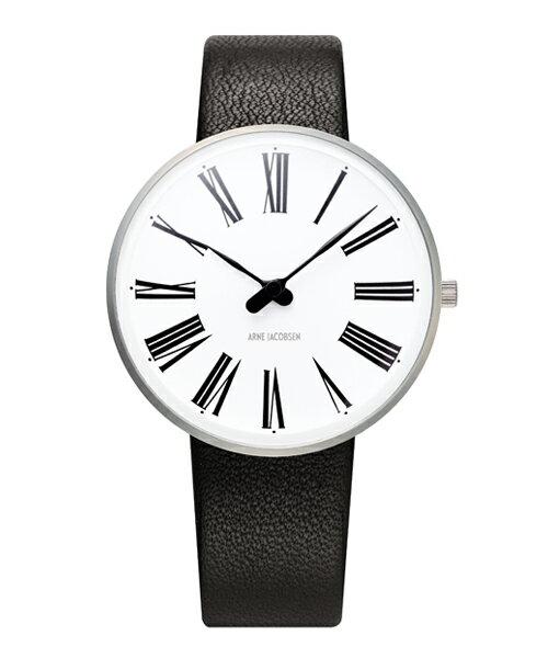 アルネヤコブセン ARNE JACOBSEN 時計 ローマンウォッチ 34mm 腕時計 レディース Roman Watch Leather 34mm ユニセックス 53301-1601 バレンタイン おしゃれ かわいい ローマンウォッチ 34mm 腕時計 レディース Roman Watch Leather 34mm ユニセックス 北欧デザイン デザイナ