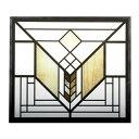 【300円クーポン対象】フランクロイドライト アートグラス レイクジェネバ Lake Geneva Tulip ステンドグラス ガラス工芸 アートディスプレイ おしゃれ かわいい アートグラス ステン