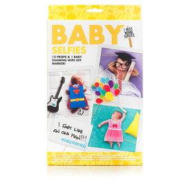 ベビーセルフィー 自撮りセット フォト Baby Selfies 自分撮り 写真 キッズ 着せ替え 変装 衣装 おしゃれ かわいい 赤ちゃん フォト Baby Selfies 自分撮り 写