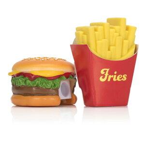 【特別99円メール便対応可】ハンバーガーの鉛筆削り & ポテトの消しゴムセット 鉛筆 ハンバーガー フライドポテト おしゃれ かわいい 鉛筆 ステーショナリー オフィス ハンバーガー フラ