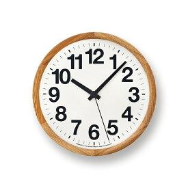 レムノス Clock A ナチュラル YK14-05 NT 掛け時計 YK14-05NT 敬老の日