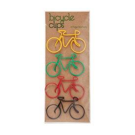 【メール便対応可】バイシクル ページマーカー 4色セット 自転車 クリップ ブックマーク しおり ブックマーカー 自転車 くりっぷ ポップ セット おしゃれ かわいい 自転車 クリップ ブックマーク しおり 栞 ブックマーカー 自転車 くりっぷ ポップ セ