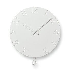 【100円クーポン】レムノス CARVED SWING /NTL15-11 掛け時計 NTL15-11 お中元 おしゃれ かわいい Lemnos 日本製 モダン 北欧スタイル ウォールクロック 壁掛け時計