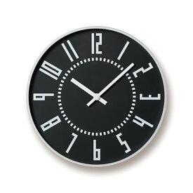 【送料無料】レムノス eki clock / ブラックTIL16-01 BK 掛け時計 TIL16-01BK ハロウィン