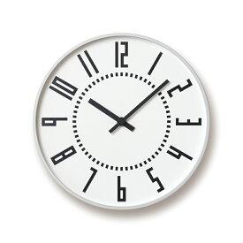 【送料無料】レムノス eki clock / ホワイトTIL16-01 WH 掛け時計 TIL16-01WH ハロウィン