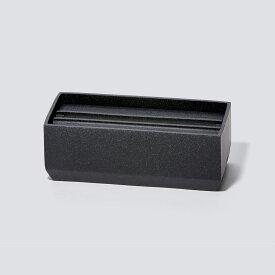 ideaco イデアコ トレル 110 ペーパータオルケース ティッシュケース ティッシュカバー サンドブラック TOREL110-SANDBLACK お中元 おしゃれ かわいい Torel 110 Paper Towel Case ペーパータオル入れ ペーパータオル ナプキン 紙タオル デザイン デザイナーズ シンプル モダ