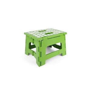 キッカーランド Kikkerland イージーステップアップライノフォールディングスツール 折りたたみ式踏み台 グリーン 1651RGR 1651RGR おしゃれ かわいい 緑 Ez Step Up Rhino