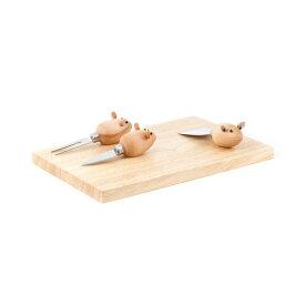 キッカーランド 3ブラインドマイス チーズボードセット ねずみ ネズミ マウス チーズプレート 3030 父の日 プレゼント 父の日ギフト おしゃれ かわいい kikkerland 3 Blind Mice Cheese board set ユニーク ニューヨーク アメリカ アメリカン雑貨 おもしろ 誕生日 結婚祝い