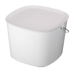 【1000円クーポン配布中】tidy ティディ バケツ バケット ホワイト CE-666-200-7 おしゃれ かわいい 白 お掃除用品 掃除 Bucket ティディー シンプル 父の日