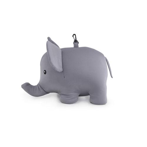 キッカーランド ジップ&フリップエレファントピロー ネックピロー 首枕 トラベルグッズ KTT24 バレンタイン おしゃれ かわいい キッカーランド社 kikkerland Zip & Flip Elephant Pillow ユニーク ニューヨーク アメリカ アメリカン雑貨 おもしろ