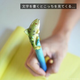 躍動感溢れる魚のボールペン