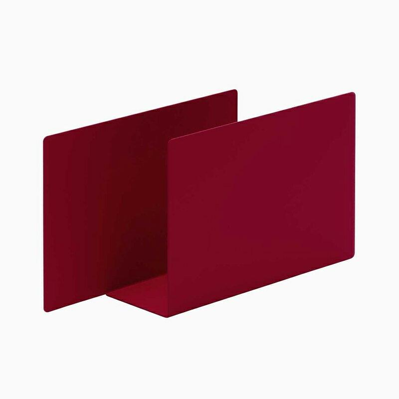 100% ペロカリエンテ カラーオブジェクト デルタ レッド 収納 トレイ トレー おしゃれ かわいい