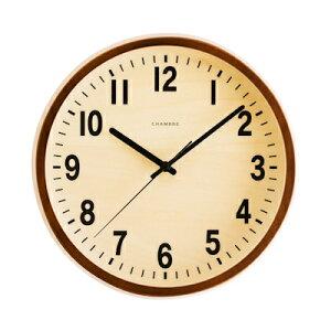 【500円クーポン対象】PUBLIC CLOCK 掛け時計 カフェブラウン CH-027CB おしゃれ かわいい 時計 ウォールクロック レトロ アンティーク 壁掛け時計