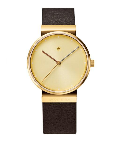 【200円クーポンあり】【送料無料】ヤコブ・イェンセン JACOB JENSEN 腕時計 JJ855 レディース ゴールド 時計