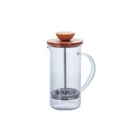 HARIO ハリオ ティープレス・ウッド 300ml フレンチプレス THW-2-OV おしゃれ かわいい プレス式 ティーポット コーヒーメーカー コーヒー ティー お茶 カフェ キッチン用品 キッチン雑貨