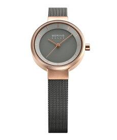 ベーリング 腕時計 14627-369 グレー/ローズゴールド レディース 14627-369 敬老の日