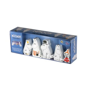 ムーミン 木製人形 5個セット BBT990038 父の日 プレゼント 父の日ギフト おしゃれ かわいい Barbo Toys バルボトイズ おもちゃ 子供 キッズ トイ Moomin 北欧 フィンランド ムーミン谷 ムーミントロール 誕生日 結婚祝い 出産祝い 引越し祝い 改装祝い 送別 退職 内祝い 新