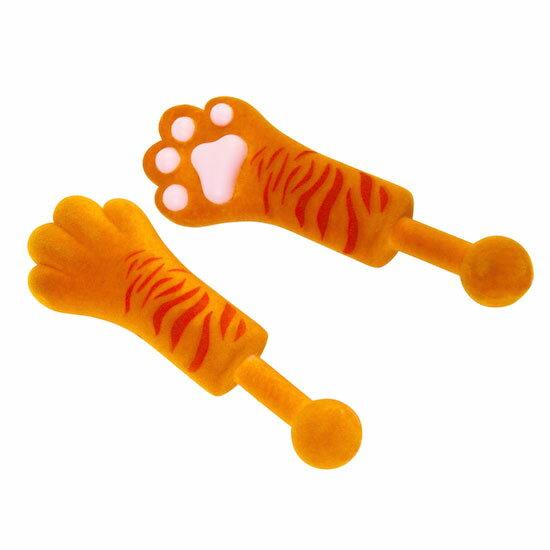 タイニーポウ 猫の手 2個セット クリスマス おしゃれ かわいい 猫 ねこ ネコ 小さな 手 肉球 おもしろ 雑貨 おもちゃ