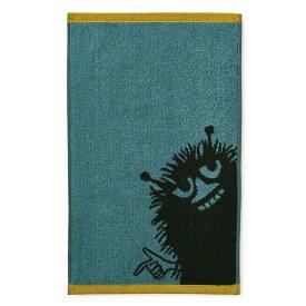 【メール便対応可】ムーミン フィンレイソン フェイスタオル スティンキー ブラック 70552-1418-02-12 おしゃれ かわいい Moomin Finlayson 北欧 フィン