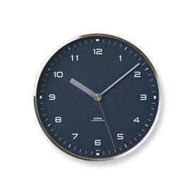 【100円クーポン対象】レムノス Lemnos AIRA 掛け時計 ネイビー LC18-03 NV おしゃれ かわいい 青 ブルー アイラ スタンド付 掛け置き兼用 置き時計 壁掛時計 壁掛け 掛時計 北欧 スイープセコンド シンプル 連続秒針 見やすい
