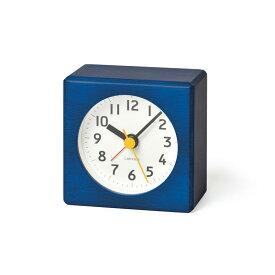 【10%OFFクーポン対象】レムノス Lemnos farbe 目覚まし時計 ブルー PA18-02 BL 敬老の日