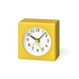 【10%OFFクーポン対象】レムノス Lemnos farbe 目覚まし時計 イエロー PA18-02 YE 敬老の日