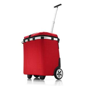 reisenthel ライゼンタール キャリークルーザー ISO レッド 39-2320-02 おしゃれ かわいい CARRY CRUISER RED 赤 保温保冷バッグ レディース 保冷機能付き 運動会 BBQ ピクニック カート ショッピングバッ