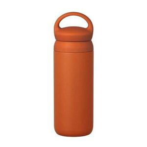 KINTO キントー デイオフタンブラー 500ml オレンジ 21097 母の日 おしゃれ かわいい 保温 保冷 ポット 水筒 真空 トラベルマグ コーヒー 紅茶 ティー 食器 シンプル ギフト 誕生日プレゼント 女友