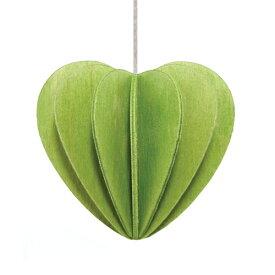 【メール便対応可】Lovi ロヴィ HEART ハート 6.8cm ライトグリーン HE68-LG グリーティングカード おしゃれ かわいい 緑 カード オブジェ メッセージカード ポップアップ ウッド 木製 立体 多目的 置物 北欧デザイン フィンランド 誕生日 結婚祝い 出産祝い 引越し祝い 改