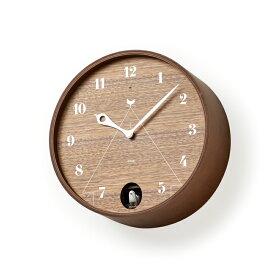 【2,000円クーポン対象】Lemnos レムノス PACE ブラウン LC11-09BW カッコー時計 卒業式 新生活 おしゃれ かわいい 掛け時計 時計 鳩時計 からくり時計 山本章 壁掛け 壁掛け時計 壁掛け 北欧 インテリア 雑貨 北欧雑貨 モ