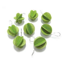 【最大1,000円クーポン配布中】【メール便対応可】Lovi ロヴィMINI BALL ミニボール 1.7cm ライトグリーン MB17-LG グリーティングカード バレンタイン おしゃれ かわいい 緑 鳥 カード オブジェ メッセージカード