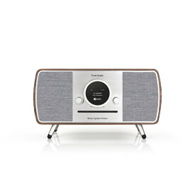 チボリ Tivoli Bluetooth Wi-Fi/CD/ラジオ/Bluetooth対応スピーカー Music System Home ウォールナット MSYH-1945-JP おしゃれ かわいい ミュージックシステムホーム 外付スピーカー チボリオーディオ スピーカー インテリア モダン 高音質 デザ