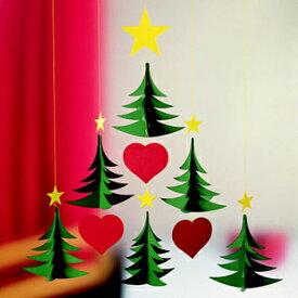 フレンステッド モビール Christmas Tree 6 Christmas Tree 6ツリー 91A おしゃれ かわいい 北欧 フレンステッドモビール FLENSTED MOBILES モビール キット アーム 天井 赤ちゃん ベビー マタニティ 北欧 ベビー マタニティー 鳥 木 mobile 星