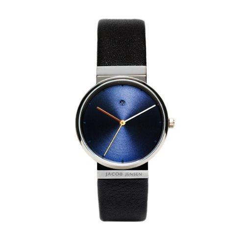 【200円クーポンあり】【送料無料】ヤコブ・イェンセン JACOB JENSEN 腕時計 JJ851 レディース ブルー ブラック 時計