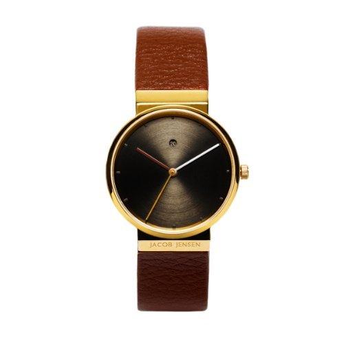【200円クーポンあり】【送料無料】ヤコブ・イェンセン JACOB JENSEN 腕時計 JJ854 レディース ブラウン