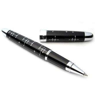 Eames ACME dot rollerball pen black
