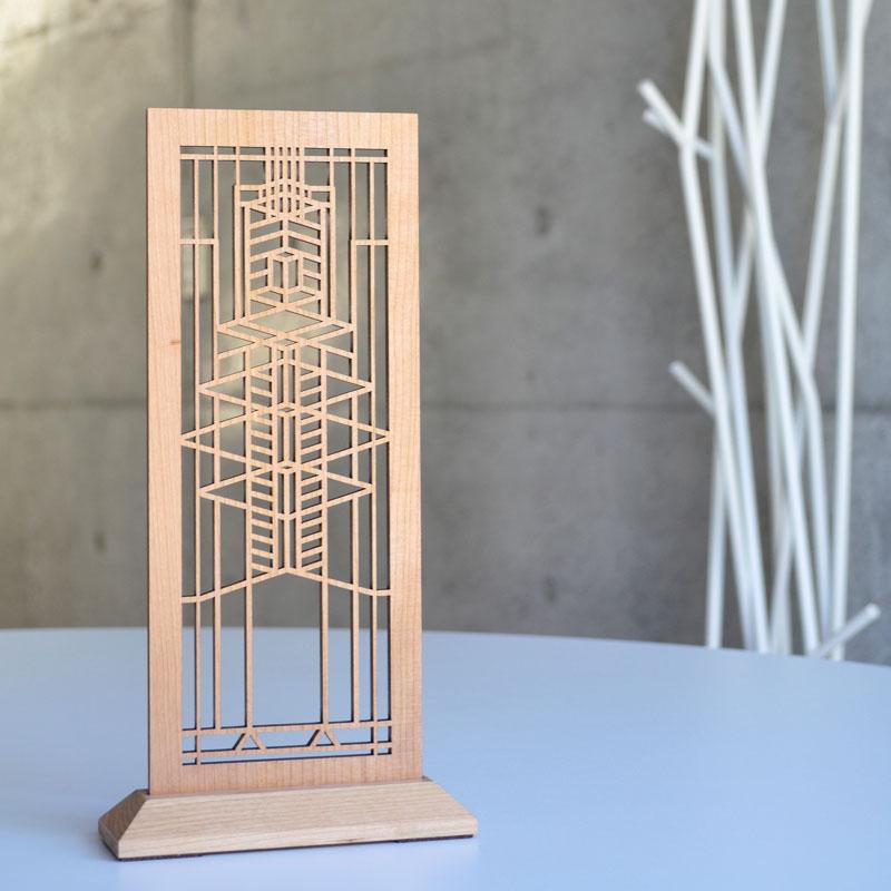 この商品が【10%OFF】になるクーポンあり!フランクロイドライト アートディスプレイ ロビー クリスマス おしゃれ かわいい Frank Lloyd Wright FLW Design フランク・ロイド・ライト テーブルアクセサリー 玄関 建築 置物 オブジェ 公式ライセンス商品 建築デザイン