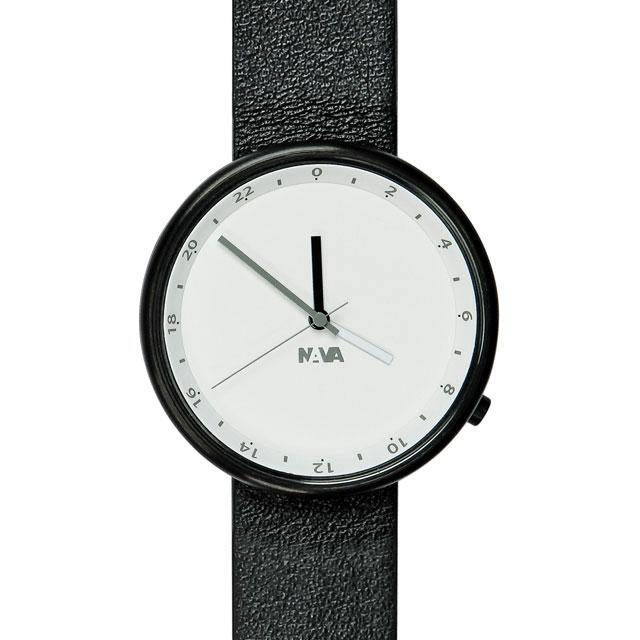 ナバデザイン Wherever Clouds O450 ブラック 腕時計 ユニセックス NVA-02-0005 クリスマス おしゃれ かわいい フォーマル NAVA ナヴァデザイン nava design 時計 デザイン デザイナーズ アナログ イタリアン イタリア 時計 ブランド
