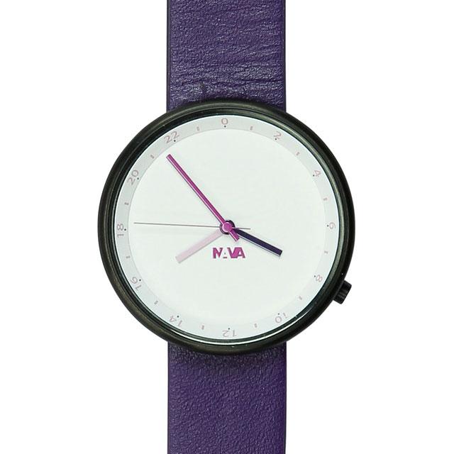 ナバデザイン Wherever Twilight O450 パープル 腕時計 ユニセックス NVA-02-0008 クリスマス おしゃれ かわいい フォーマル NAVA ナヴァデザイン nava design 時計 デザイン デザイナーズ アナログ イタリアン イタリア 時計 ブランド