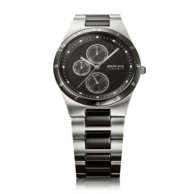 ベーリング 腕時計 ブラック&シルバー メンズ Mens Link Ceramic 32339-742 バレンタイン おしゃれ かわいい フォーマル BERING 時計 デザイン デザイナーズ 北欧デザイン モダン 時計 アナログ ブランド