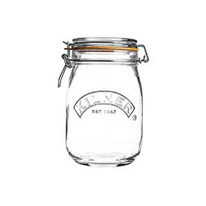 キルナー クリップトップジャー 1L KILNER ガラスジャー 1000ml 38-2017-00 クリスマス おしゃれ かわいい キルナージャー キルナーガラスジャー 保存用瓶 保存容器 保存ビン ガラス 密閉 保存瓶 ビン 瓶 グラス 詰め替え 調味料入れ コーヒー ティーバッグ お菓子