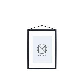 【10%OFFクーポン対象】ムーべ MOEBE フレーム A4 ブラック FABA4 お中元 おしゃれ かわいい 黒 FRAME 額縁 フレーム 額 写真立て フォトフレーム 北欧 デンマーク インテリア 雑貨 デザイン デザイナーズ 家具 シンプル 誕生日 結婚祝い 出産祝い 引越し祝い 改装祝い 送別